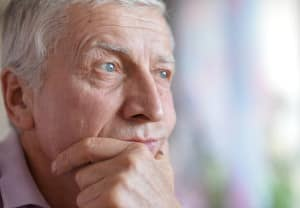 Older Man Concerned about Gum Disease